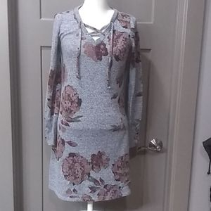 Maurice's floral sweater dress